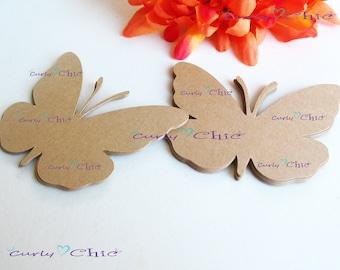 Retro vintage monarch paper 3D butterflies die cuts paper crafts diy scrapbooking cardmaking party table decorations wedding bridal
