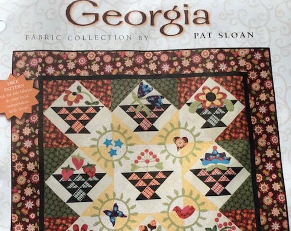 "Georgia Quilt Kit & Pattern 57"" square (145cm square)"
