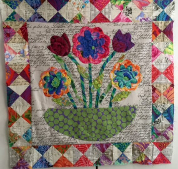 Flowers for Alison BOM Month 7 & Border Option