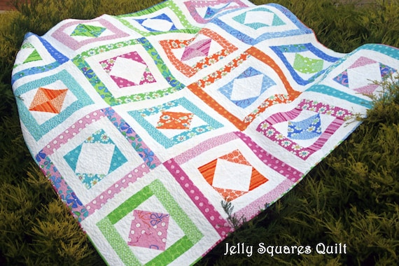 Jelly Squares Quilt Pattern