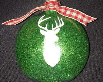 Deer Holiday Ornament