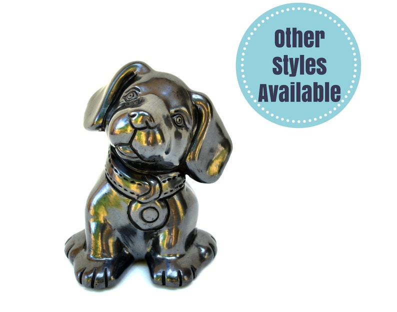Handmade Ceramic Dog Dog Decor Ceramic Dog Figurine Ceramic image 0
