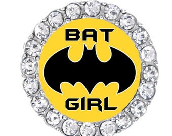 Bat Girl Sneaker Charm-Super Hero Shoelace Charm