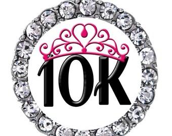 10K Sneaker Charm-Princess 10K Shoelace charm