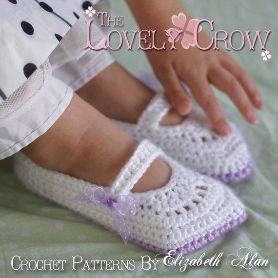 Toddler Mary Janes Crochet Pattern Toddler Girl Shoes For Etsy