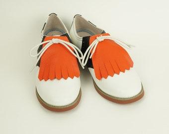 Orange Kilties for Womens Golf Shoes 5ee634ee868