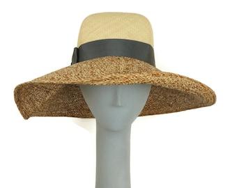 ec1eebd916cef4 Wide Brim Hat Women, Straw Hat Women, Ladies Straw Hat, Summer Hat for Women,  Panama Hat, Sun Hat, Millinery Hat, Derby Hats for Women