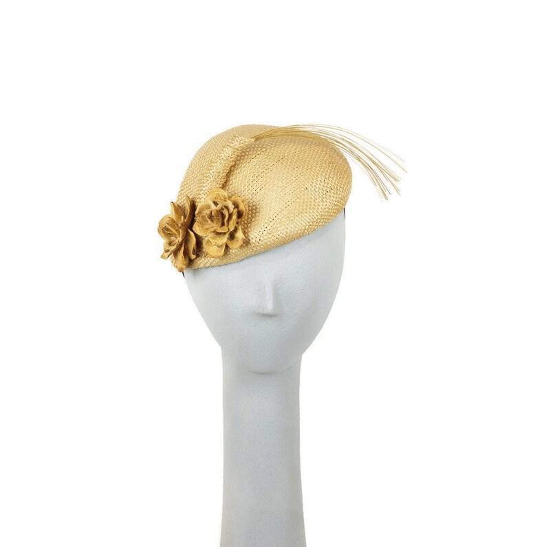 eda633827 Woodland Wedding Fascinator Hat, Cocktail Hat, Straw Hat, Mini Hats, Races  Hat, Wedding Hat, Mother of the Bride, Church Hat, PillboxHat,