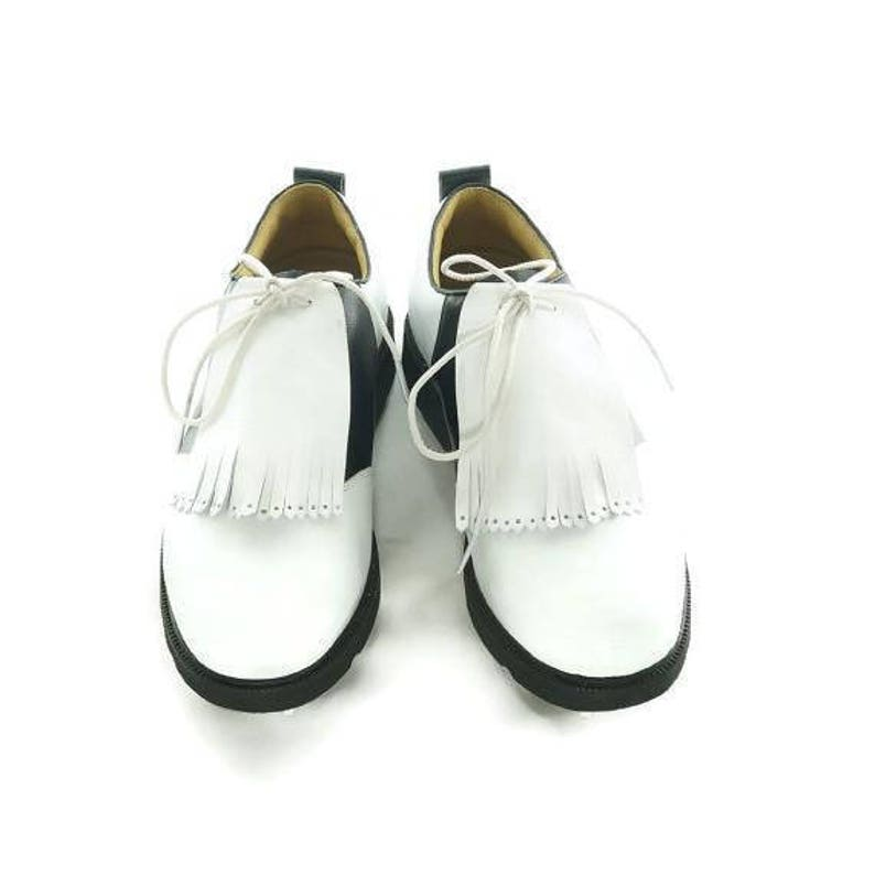 White Kilties for Mens Golf Shoes Best Golf Gift Golf Gift image 0