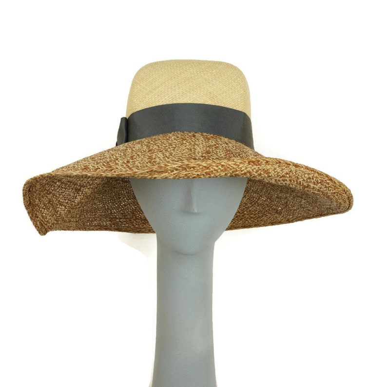 Wide Brim Hat Women Straw Hat Women Ladies Straw Hat Summer image 0