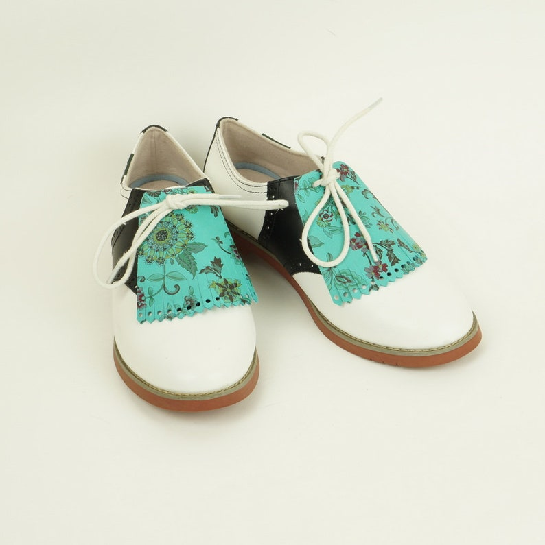 Kilties for Womens Golf Shoes Saddle Shoes Lindy Hop Golf image 0