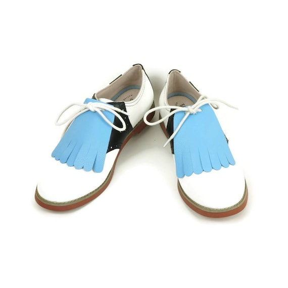 91b4bead57854 Baby Blue Kilties for Womens Golf Shoes Swing Dance Shoes Swing Shoes Lindy  Hop Best Golf Shoes, Golf Gifts for Women, Golf Accessories