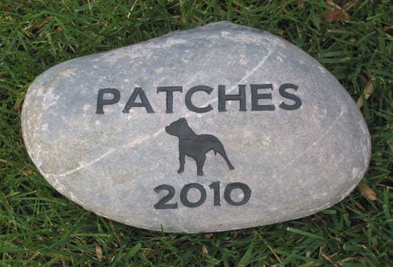 Pet Grave Marker Pet Memorial Gifts Dog Memorials 9 10 Inch Pitbull Other Breeds