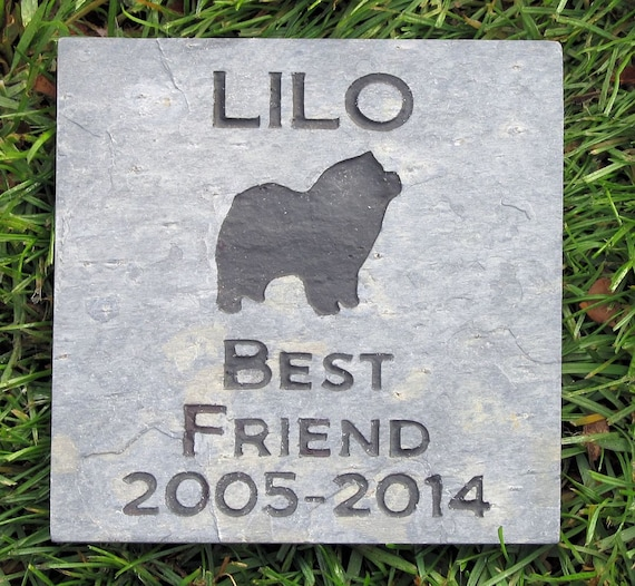 personalized pet memorial stone gifts garden stone dog etsy