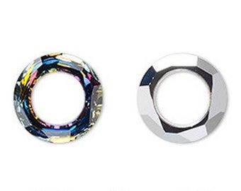 f3f36f580 Swarovski cosmic ring component style 4139 Volcano -- Available in 14mm and  20mm