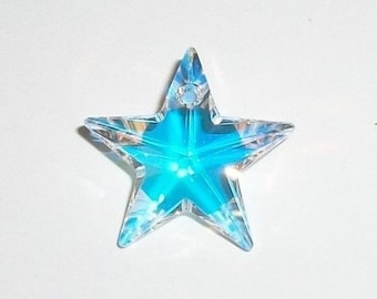 Swarovski crystal Star pendant 20mm 0r 28mm Star style 6714 Crystal Pendant Crystal AB  -  1 piece per package