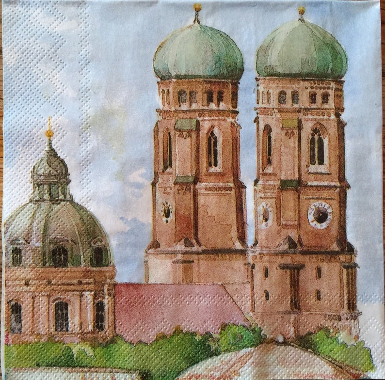 Paper-Craft and Collage Decor #528 13 inches for Decoupage Decoupage Napkins 2 Single  Paper Napkins 33 cm