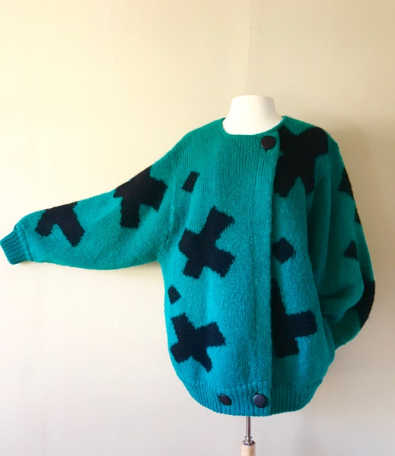 Late 80s 90s Oversized Mohair Sweater