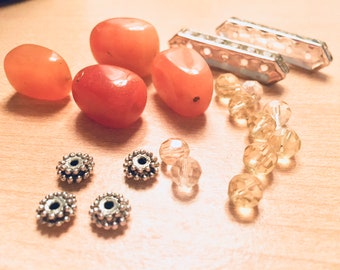 Supplies - Assorted Bead and Finding Lot
