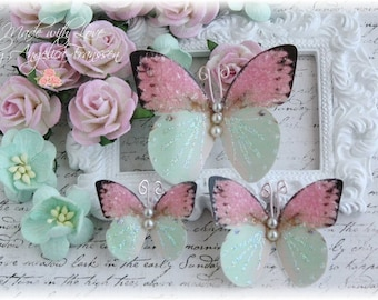 Daydreams  Butterfly Embellishment Diecuts for Scrapbooking or Cardmaking, Tag Art,  Mixed Media, Mini Albums