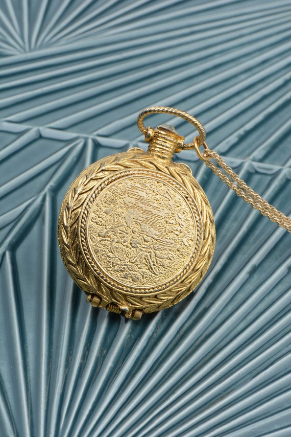 Vintage Locket, Eco-Friendly Jewelry, Musical Lock
