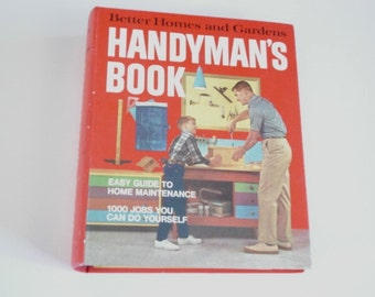 Home repair guide etsy handyman book home repair book1970s repair book fix it guide how to book home maintaince do it yourself tools plumbing tips solutioingenieria