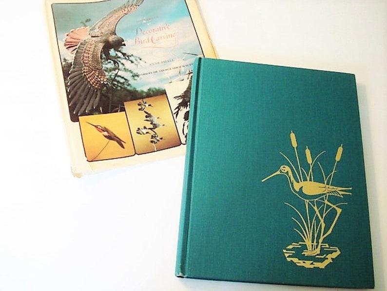 Bird carving book 1980s vintage bird book avian carving wood etsy
