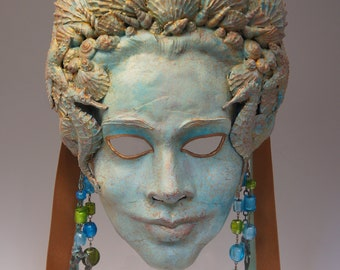 Goddess Yemaya Mask