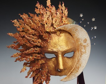 Sunset/Moon Rise Mask - AVAILABLE