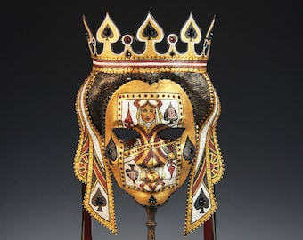 Queen of Spades Mask - AVAILABLE
