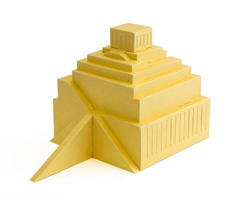 TOWER OF BABEL The Great Ziggurat Of Babylon Reconstruction