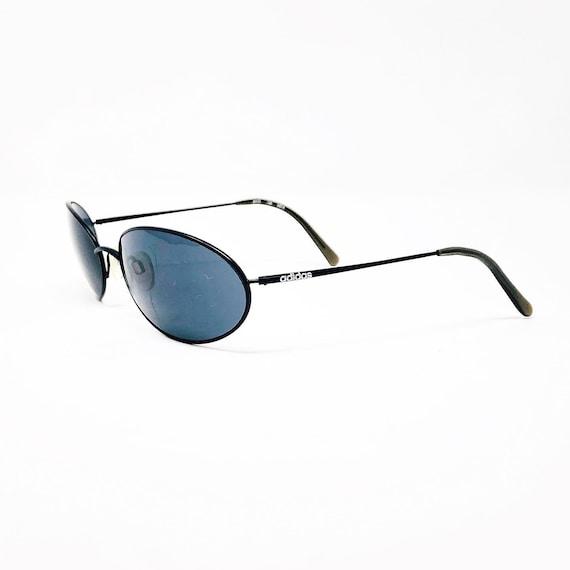 Vintage 1990's Adidas Black Oval Sunglasses