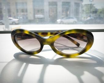 Vintage 1990's Missoni Tortoiseshell Cateye Sunglasses