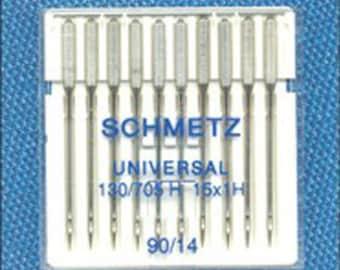 Schmetz Universal Sewing Machine needles - 10 pack - 90/14 - Schmetz Needles for your sewing machine