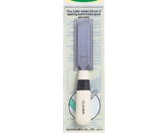 Clover Buttonhole Cutter