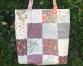 Charm Street Market Tote Bag kit - Quill by 3  Sisters by Moda