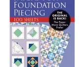 Paper Piecing - Papers for Foundation Piecing - 100 ct. - by Martingale - Papers for Paper Piecing - Printer papers
