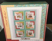 Cultivate Kindness Boxed Quilt Kit by Deb Strain for Moda - Fabric for Quilt top and binding - Finished Size 66x80