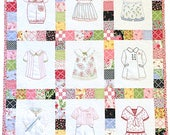 Betsy's Closet in Stitches - Quilt Kit - by Brenda Riddle for Moda