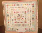 Summer Sweet Gelato Boxed Quilt Kit by Sherri & Chelsi for Moda - Fabric for Quilt top and binding - Finished Size 70x70