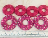 Pattern weights - Use instead of Pins when Cutting out a Sewing Pattern - Or Just Hold Your Book Open - Hot Pink/Hello Kitty - Ribbon