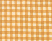 Moda Fabric - Cultivate Kindness by Deb Strain for Moda - 19935 16 -  Gold (sunflower color) Check - 100% cotton fabric- 1/2 yard pricing