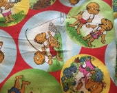 Moda Fabric - Berenstain Bears - Welcome To Bear Country  Cotton Fabric  - 55502 - 1/2 yard