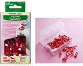 Clover Wonder Clips - 50 ct. - Color Red
