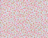 Guernsey by Brenda Riddle for Moda - 1/2 yard - Light Blue with Small flowers - 100% Cotton