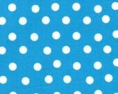 Moda Fabric - Berenstain Bears - Welcome To Bear Country  Cotton Fabric - Blue Dot  - Fat Quarter