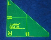 CutRite Bind Up Tool - Fast and Easy Way to Finish Binding on a Quilt - Perfect mitered seams - Quilter's Paradise