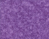 Moda Fabric - Marble Swirl - Key West Purple - 1/2 yard - 9908 - 19 Purple with swirls - Cotton Fabric