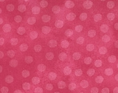 Moda Fabric - Marble Dots - Raspberry - 1/2 yard - 3405 - 72 Raspberry with dots - Cotton Fabric