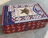 America the Beautiful Quilt Kit by Deb Strain for Moda - Fabric for Quilt top, binding - Finished Size 36x48 - plus table runner 50x22